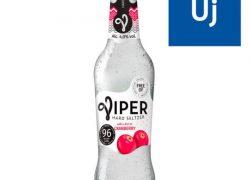 Viper Hard Seltzer 330ml Áfonya üveg 4%